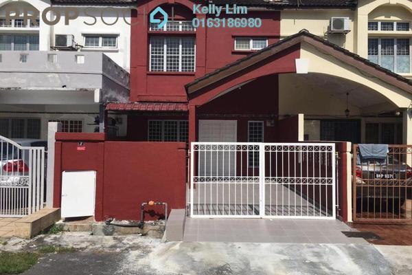 For Sale Terrace at Section 6, Bandar Mahkota Cheras Freehold Semi Furnished 4R/3B 470k
