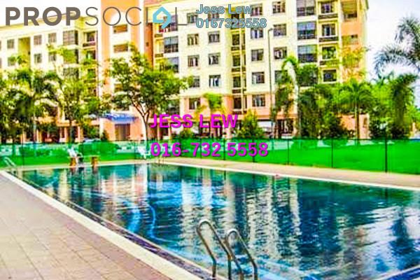 For Sale Apartment at Pangsapuri Bukit Beruang Utama, Bukit Beruang Freehold Semi Furnished 4R/2B 195k
