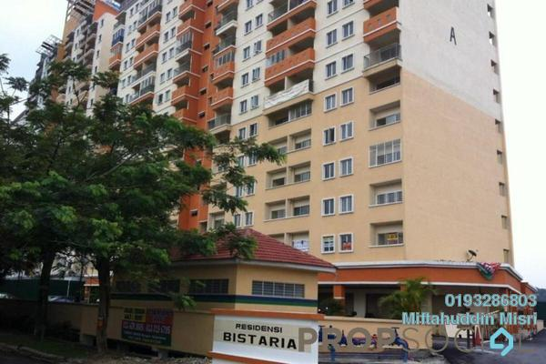 For Sale Condominium at Residensi Bistaria, Ukay Freehold Semi Furnished 4R/2B 280k