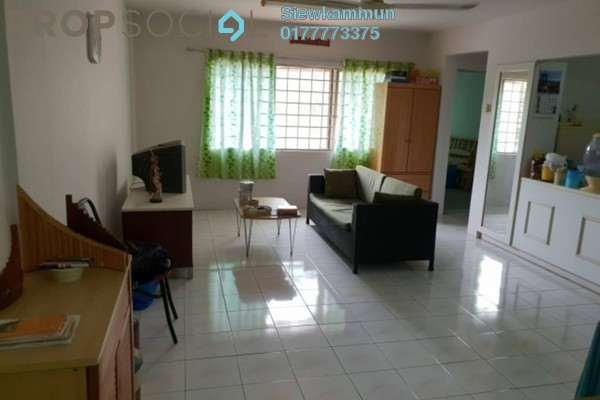 For Sale Apartment at Saujana Apartment, Damansara Damai Freehold Semi Furnished 3R/1B 250k