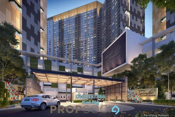For Sale Condominium at Platinum Splendor Residence, Kuala Lumpur Leasehold Unfurnished 3R/2B 470k