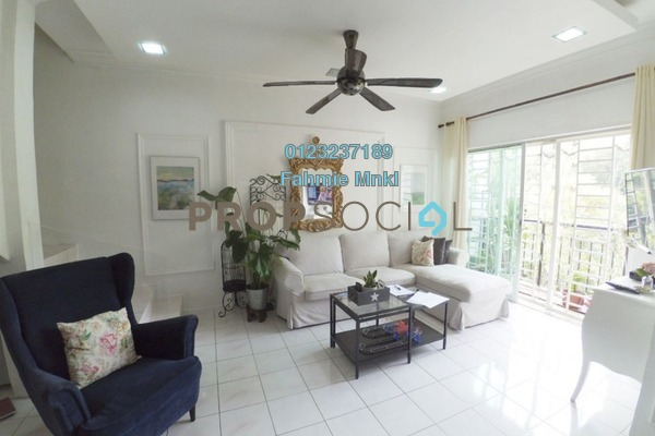 For Sale Townhouse at Taman Sinaran, Balakong Freehold Semi Furnished 4R/3B 320k