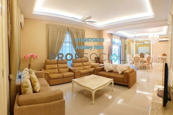 For Sale Semi-Detached at Setia Eco Park, Setia Alam Freehold Fully Furnished 4R/5B 2.48m