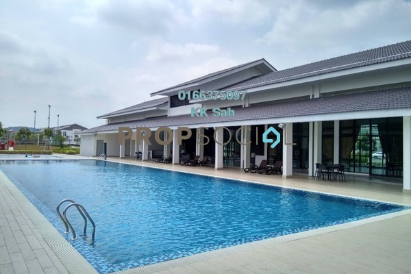 For Sale Link at M Residence, Rawang Freehold Semi Furnished 4R/3B 450k