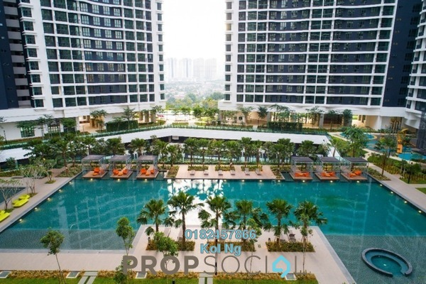 For Sale Serviced Residence at KL Traders Square, Kuala Lumpur Freehold Unfurnished 3R/2B 470k