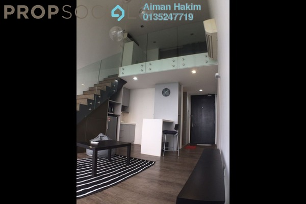For Rent Duplex at The Place, Cyberjaya Freehold Fully Furnished 1R/1B 1.2k