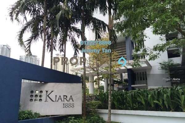For Rent Condominium at Kiara 1888, Mont Kiara Freehold Semi Furnished 3R/2B 2.8k