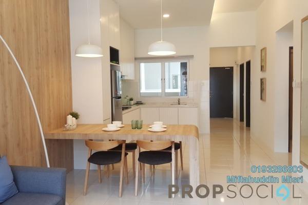 For Sale Condominium at Taman Persiaran Bangi, Bangi Freehold Unfurnished 3R/2B 355k