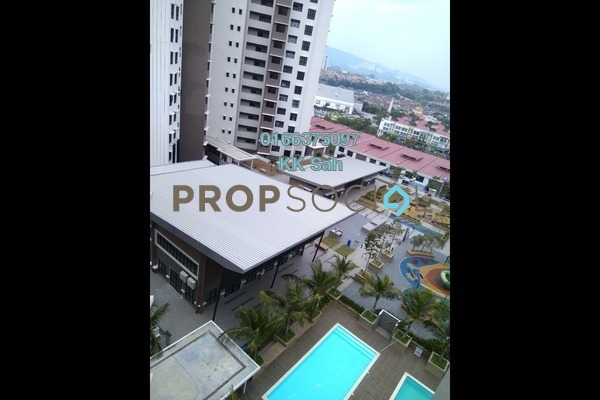 For Rent Condominium at Lake Vista Residence, Bandar Tun Hussein Onn Freehold Semi Furnished 3R/2B 1.7k