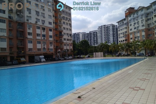 For Sale Condominium at Sri Hijau, Bandar Mahkota Cheras Freehold Unfurnished 3R/2B 295k