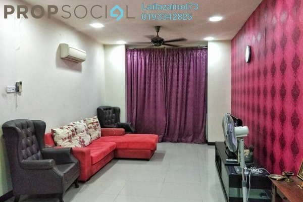 For Sale Apartment at Desa Idaman Residences, Puchong Freehold Fully Furnished 3R/2B 390k