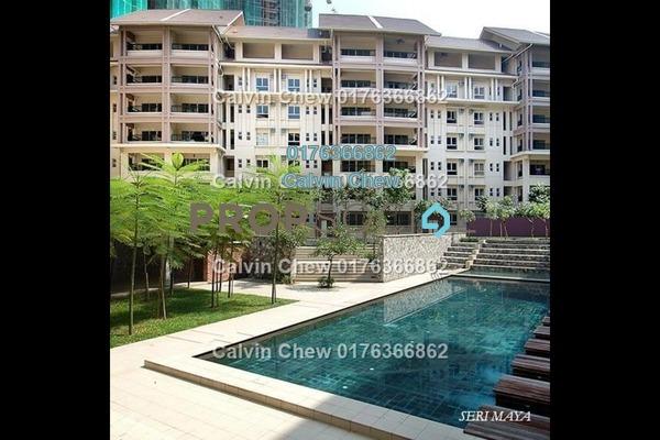 For Sale Condominium at Seri Maya, Setiawangsa Freehold Unfurnished 3R/2B 423k