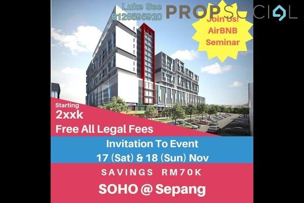 For Sale SoHo/Studio at Core SoHo Suites, Sepang Freehold Semi Furnished 1R/1B 254k