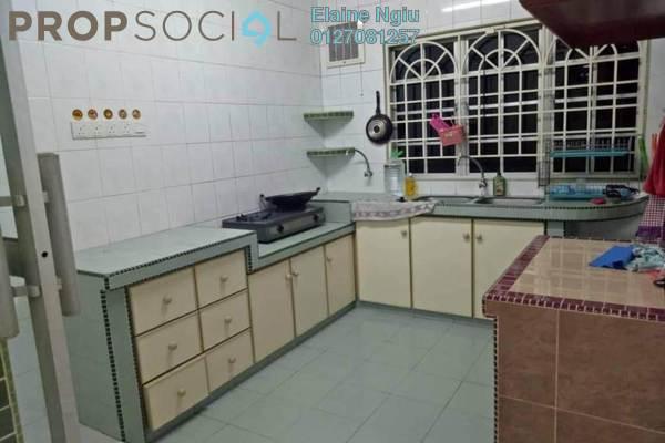 For Sale Terrace at Taman Serdang Jaya, Seri Kembangan Leasehold Semi Furnished 3R/2B 388k