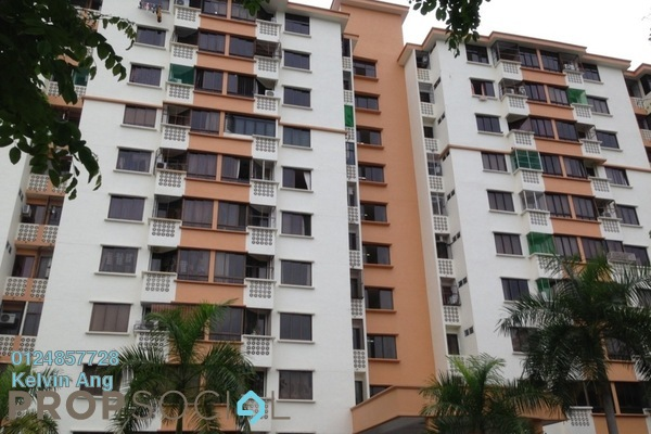 For Sale Apartment at Pantai Apartment, Butterworth Freehold Semi Furnished 3R/2B 269k