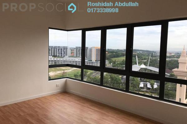 For Sale Serviced Residence at Suria Residence, Bukit Jelutong Freehold Semi Furnished 3R/2B 680k