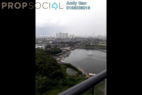 For Rent Condominium at LakePark Residence @ KL North, Selayang Freehold Semi Furnished 3R/2B 1.55k