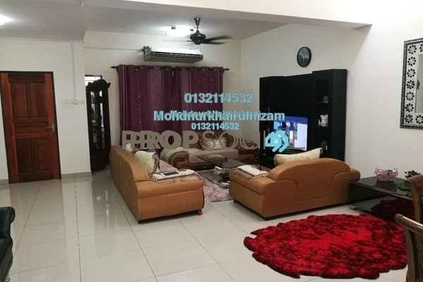 For Sale Terrace at Bandar Saujana Utama, Sungai Buloh Freehold Semi Furnished 4R/3B 570k