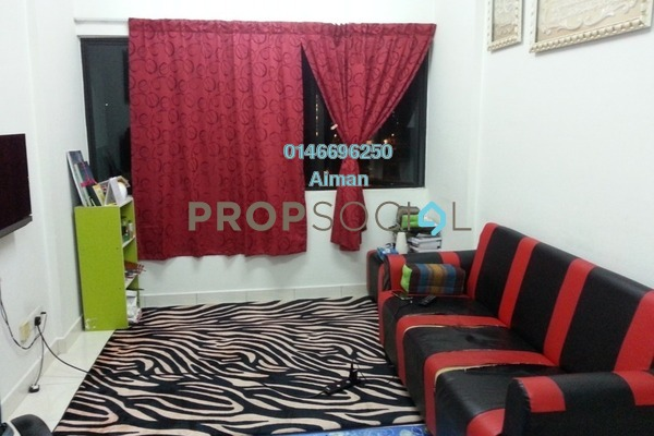 For Sale Condominium at Suria Rafflesia, Setia Alam Freehold Unfurnished 3R/2B 273k