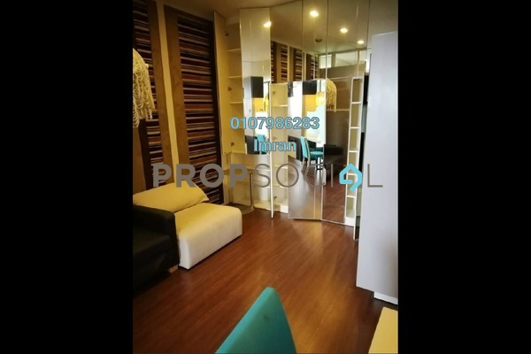 For Rent Serviced Residence at VERVE Suites, Mont Kiara Freehold Fully Furnished 1R/1B 2.5k