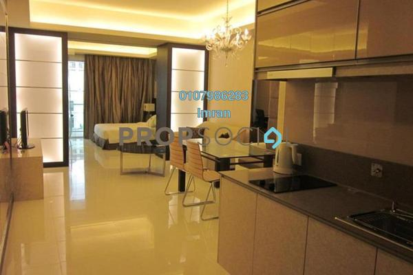 For Sale Serviced Residence at Chelsea, Sri Hartamas Freehold Fully Furnished 0R/1B 460k