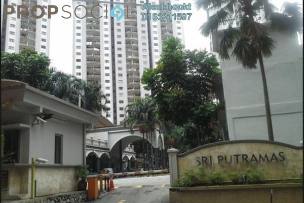 For Sale Condominium at Sri Putramas I, Dutamas Freehold Semi Furnished 3R/2B 450k
