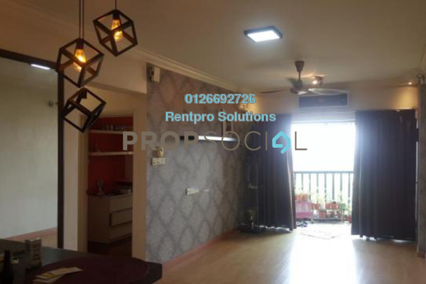 For Rent Apartment at Anjung Hijau, Bukit Jalil Freehold Fully Furnished 2R/1B 1.5k