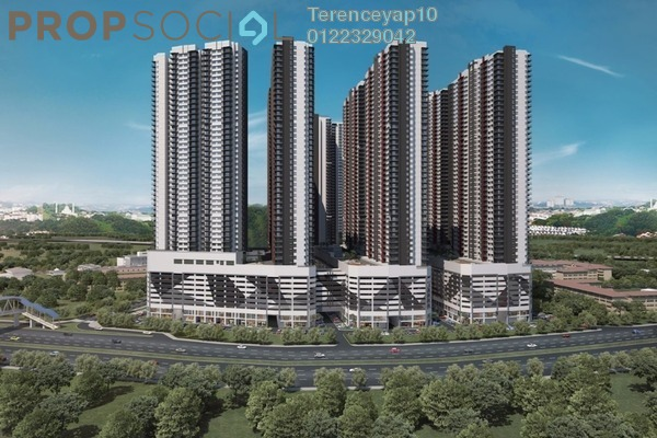 For Sale Serviced Residence at Razak City Residences, Sungai Besi Leasehold Fully Furnished 2R/2B 359k