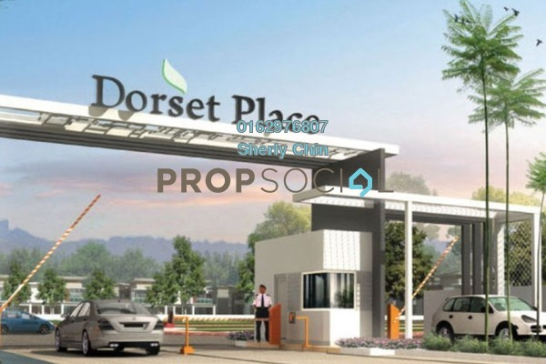 For Sale Semi-Detached at Dorset Place, Ipoh Freehold Fully Furnished 6R/6B 878k