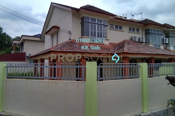 For Rent Link at Section 2, Bandar Mahkota Cheras Freehold Semi Furnished 4R/3B 1.6k