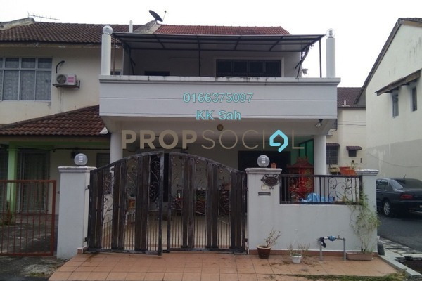 For Sale Terrace at Section 5, Bandar Mahkota Cheras Freehold Semi Furnished 4R/3B 618k