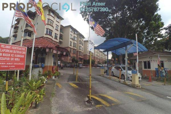 For Sale Apartment at Sri Wira Apartment, Ukay Leasehold Unfurnished 3R/2B 265k