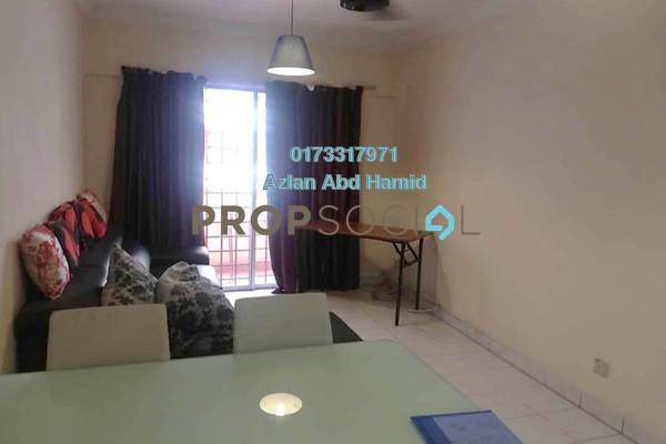 For Sale Condominium at Idaman Sutera, Setapak Freehold Fully Furnished 3R/2B 330k