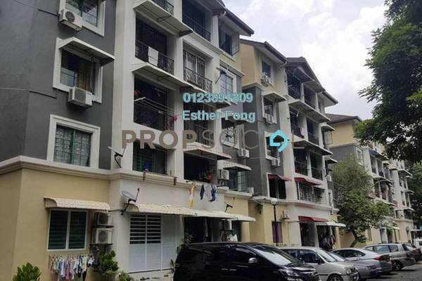For Sale Apartment at SD Apartments, Bandar Sri Damansara Freehold Fully Furnished 3R/2B 258k