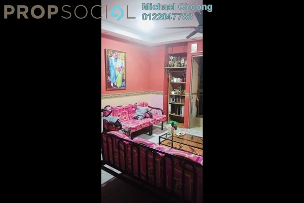 For Rent Apartment at Vista Lavender, Bandar Kinrara Freehold Semi Furnished 3R/2B 1k