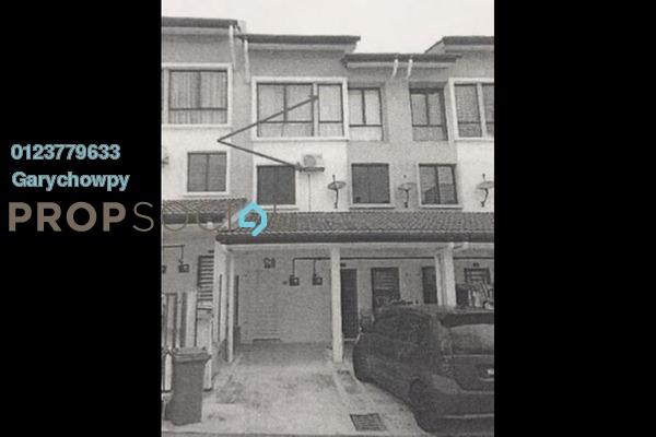 For Sale Townhouse at Pearl Residences, Bandar Mahkota Cheras Freehold Semi Furnished 3R/2B 370k