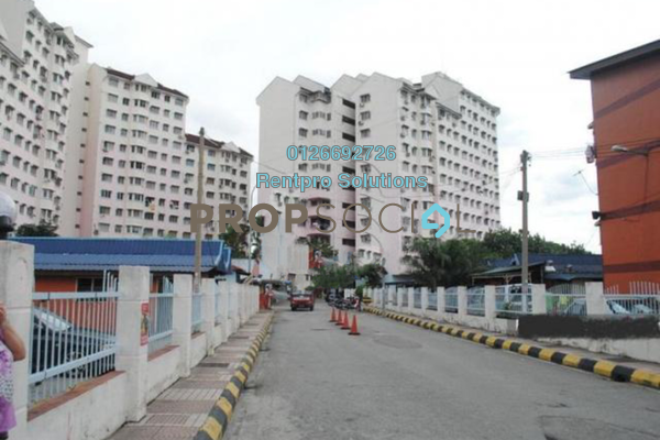 For Rent Apartment at Indah Mas Apartment, Bandar Sri Permaisuri Freehold Unfurnished 3R/1B 1k
