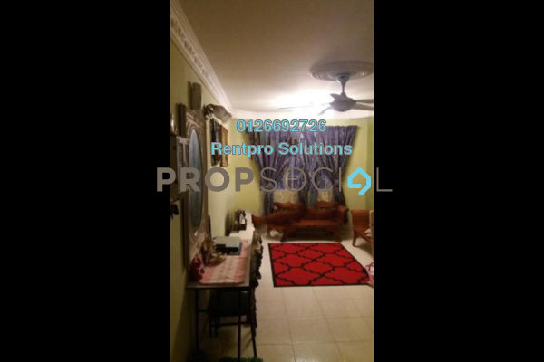 For Rent Apartment at Cendana Apartment, Bandar Sri Permaisuri Freehold Fully Furnished 3R/2B 1.2k