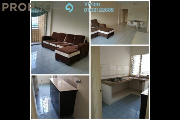 For Rent Condominium at Sri Desa, Kuchai Lama Freehold Fully Furnished 3R/2B 1.2k
