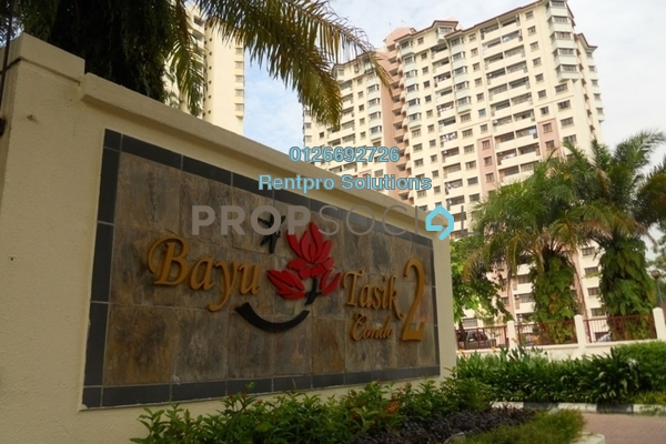 For Rent Condominium at Bayu Tasik 2, Bandar Sri Permaisuri Freehold Semi Furnished 3R/2B 1.45k