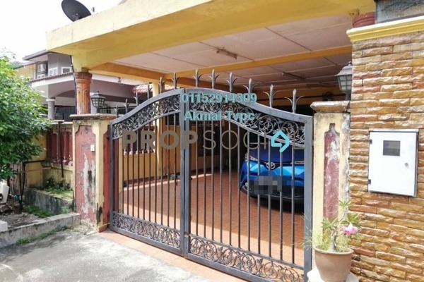 For Sale Terrace at Taman Kajang Mewah, Kajang Leasehold Semi Furnished 3R/3B 580k