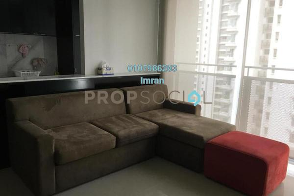 For Rent Serviced Residence at VERVE Suites, Mont Kiara Freehold Fully Furnished 2R/2B 3.2k