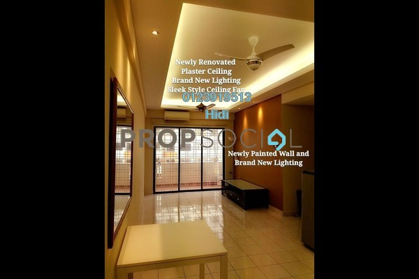 For Sale Condominium at Vista Millennium, Puchong Freehold Semi Furnished 3R/2B 350k