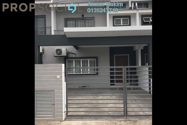 For Rent Terrace at Laman View, Cyberjaya Freehold Semi Furnished 4R/3B 2.5k
