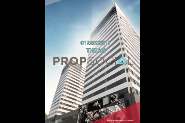 For Rent Office at Faber Tower, Taman Desa Freehold Semi Furnished 0R/0B 8.6k