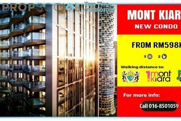 For Sale Condominium at Vista Kiara, Mont Kiara Freehold Unfurnished 3R/2B 598k
