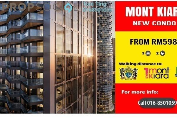 For Sale Condominium at Lanai Kiara, Mont Kiara Freehold Unfurnished 3R/2B 598k