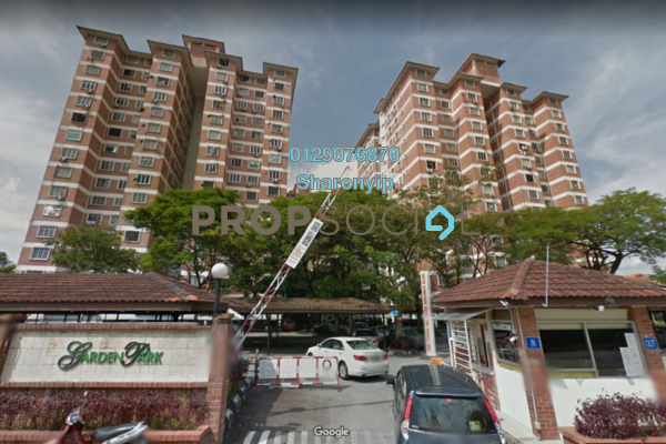 For Rent Condominium at Garden Park, Bandar Sungai Long Freehold Semi Furnished 3R/2B 850translationmissing:en.pricing.unit