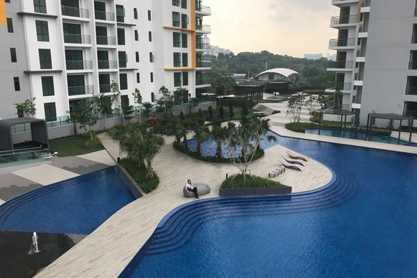 For Sale Condominium at Parkhill Residence, Bukit Jalil Freehold Unfurnished 3R/2B 620k