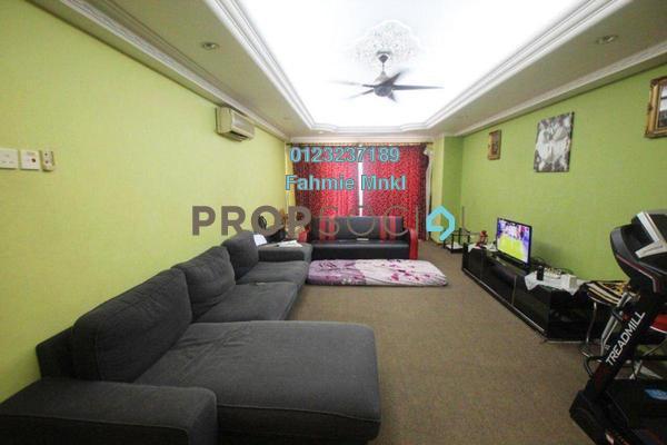 For Sale Condominium at Pandan Villa, Pandan Indah Leasehold Semi Furnished 3R/2B 470k